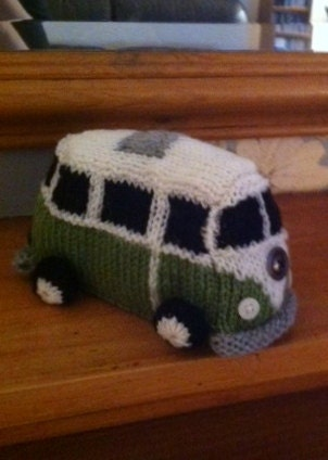 Vw Campervan Knitting Pattern : FREE VW CAMPERVAN KNITTING PATTERN - VERY SIMPLE FREE KNITTING PATTERNS