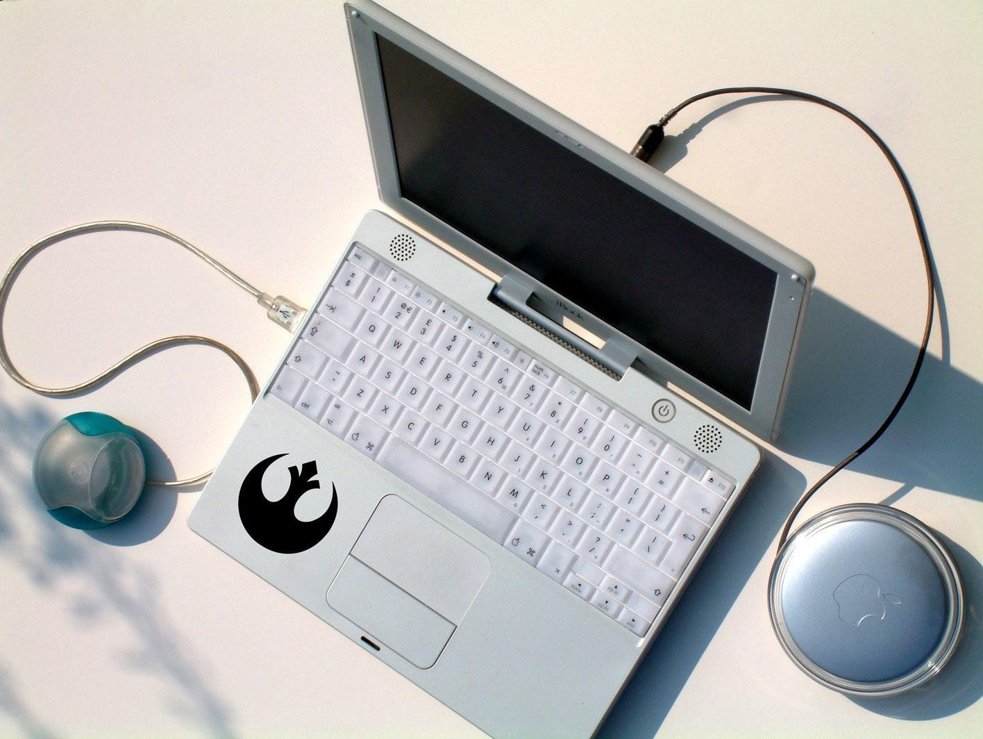 Star Wars Inspired Decal Sticker Rebel Alliance Laptop Sticker Star Wars Rebellion Decal MacBook Sticker Window Sticker Gift For SW Fan