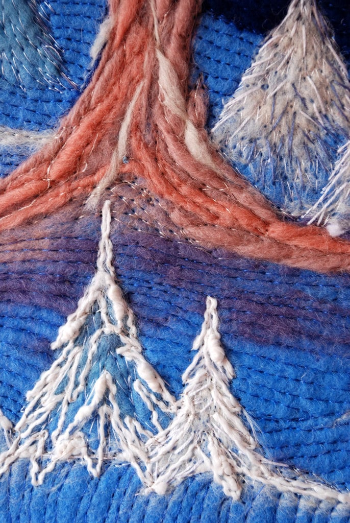 Зимнее чудо - needlefelted искусства