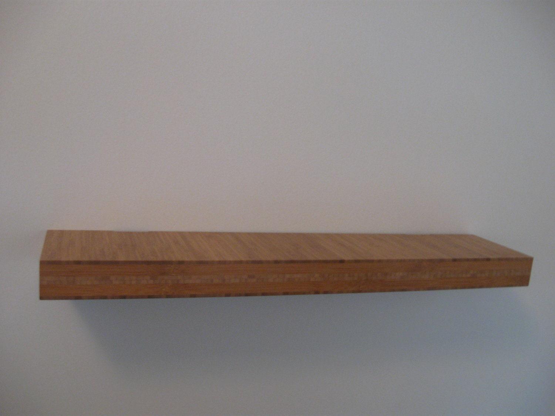 Modern Floating Bamboo Shelf By JasonsDesignsChicago On Etsy
