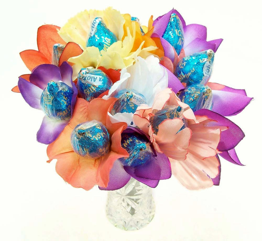 Hershey Kisses Candy Bouquet