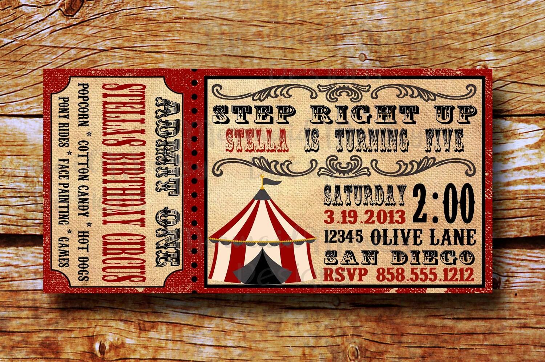 Carnival Invitation Template - jeppefm.tk