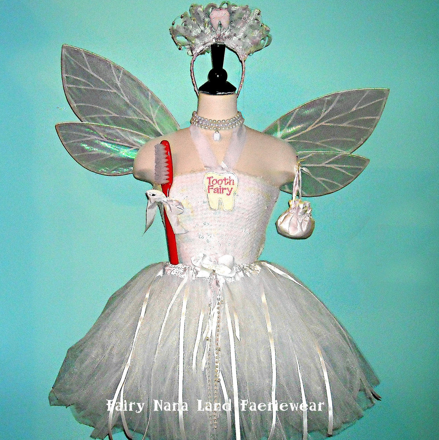 Tooth fairy and tooth adult costume