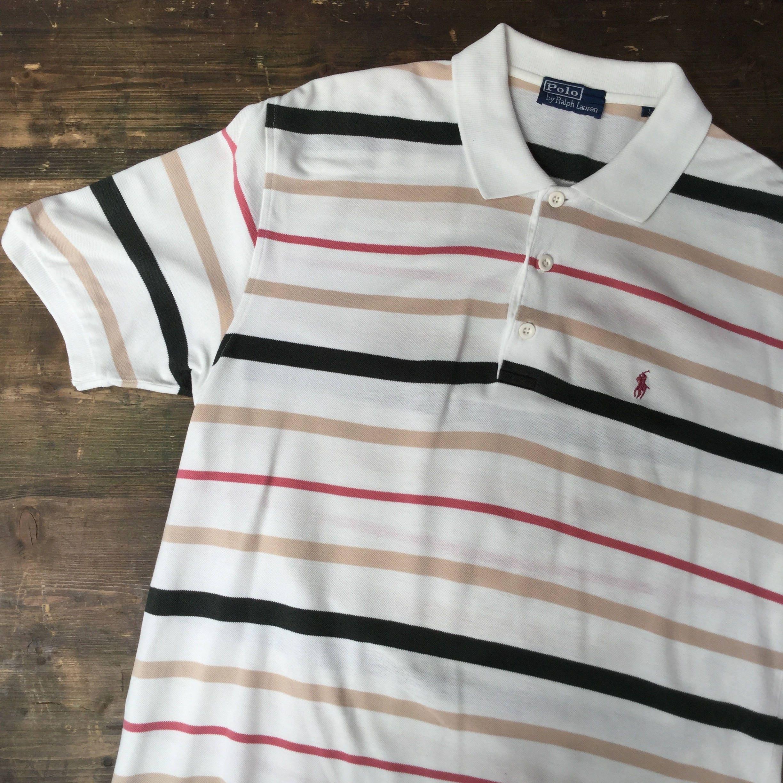 Ralph Lauren Pastel Striped Polo Shirt