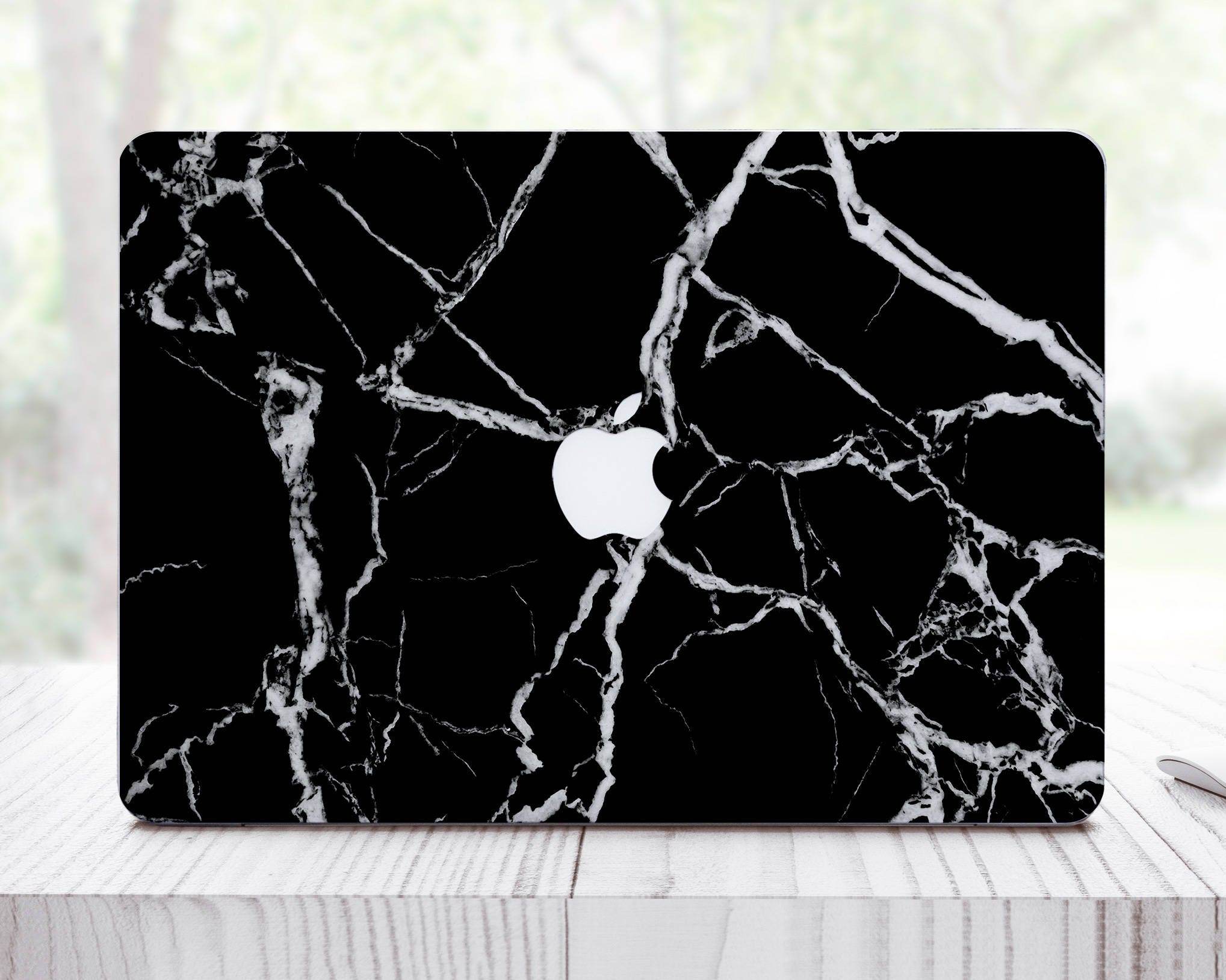 Black Marble MacBook Skin MacBook 12 inch Skin MacBook Pro 13 MacBook  Air Skin 11 Air MacBook Air 13 MacBook Pro Retina 15 SKin ES0001