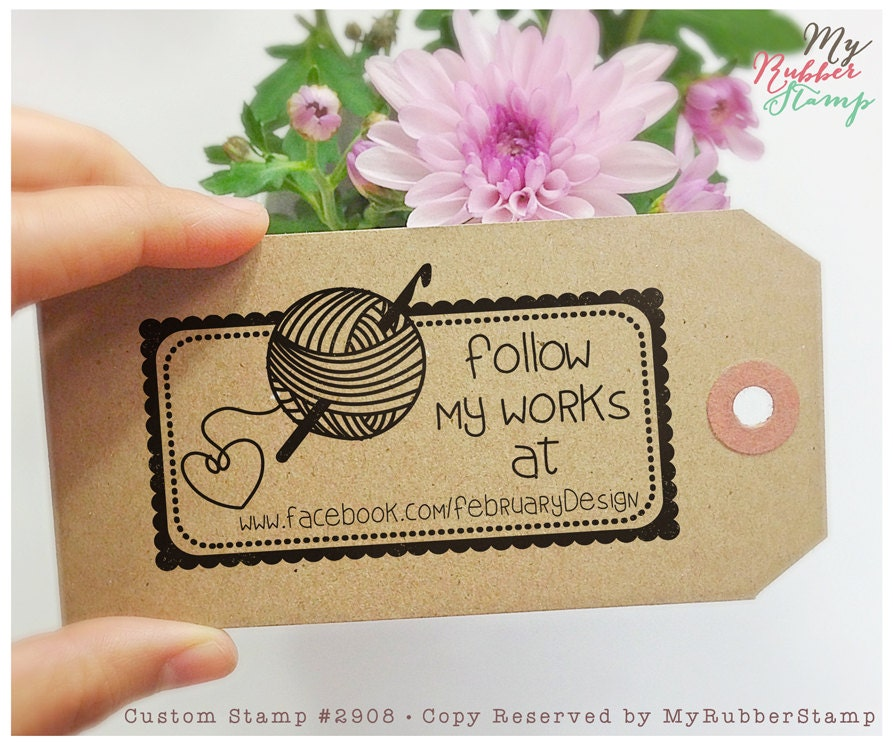how to add buisiness logo on tag for knit
