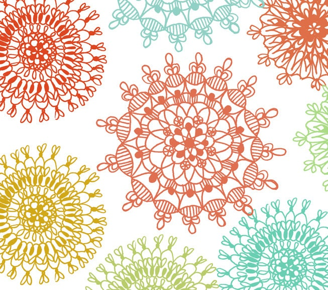 christmas ornament lace clipart christmas by swiejkoforprint