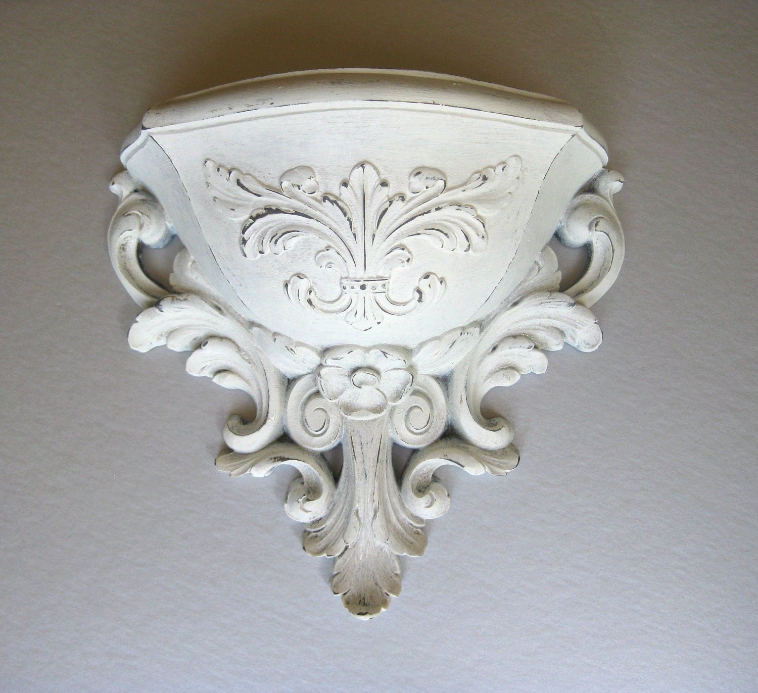 Wall Sconces Planters : Vintage Homco Wall Sconce White Planter Wall Hanging by Swede13