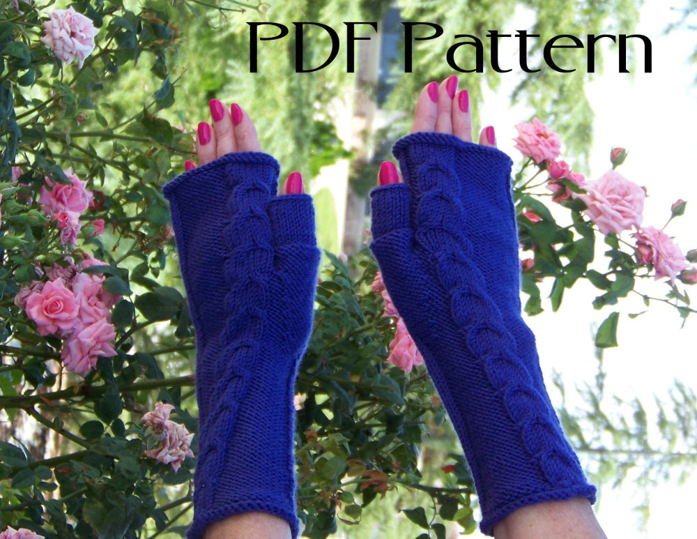 Knitting Pattern Gauntlet Gloves : 301 Moved Permanently