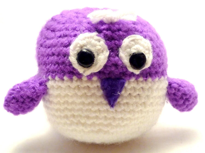 Crochet Doll Animals : Cute Stuffed Animal Crochet Bird Amigurumi Doll by ...