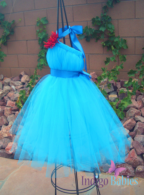 Tutu Dresses Tutu Dress Flower Girl Dress by indigobabies on Etsy