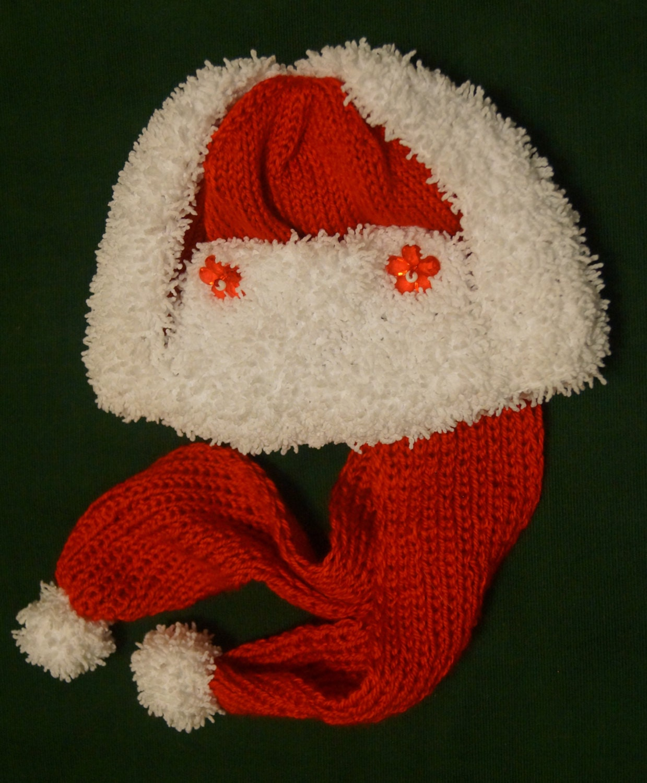 Items similar to Red Russian Ushanka Christmas baby hat ...