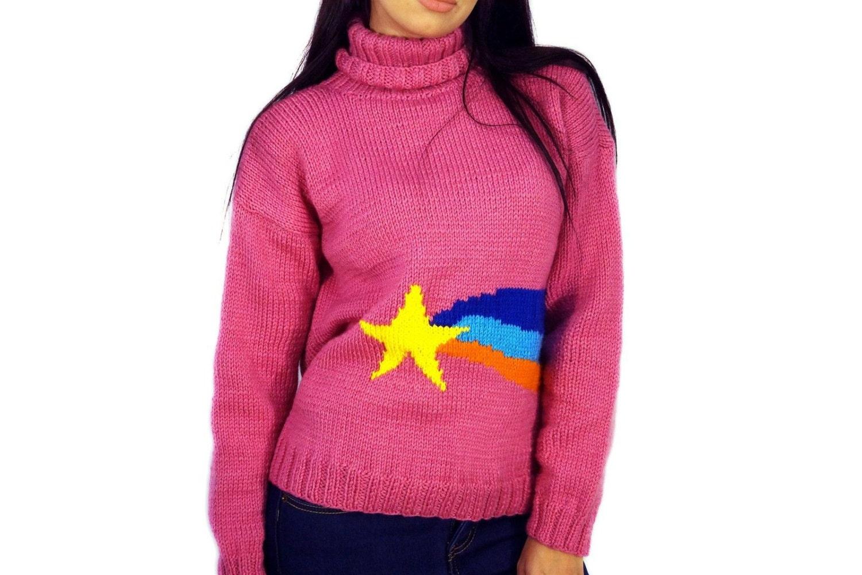 Как связать свитер как у мейбл спицами схема