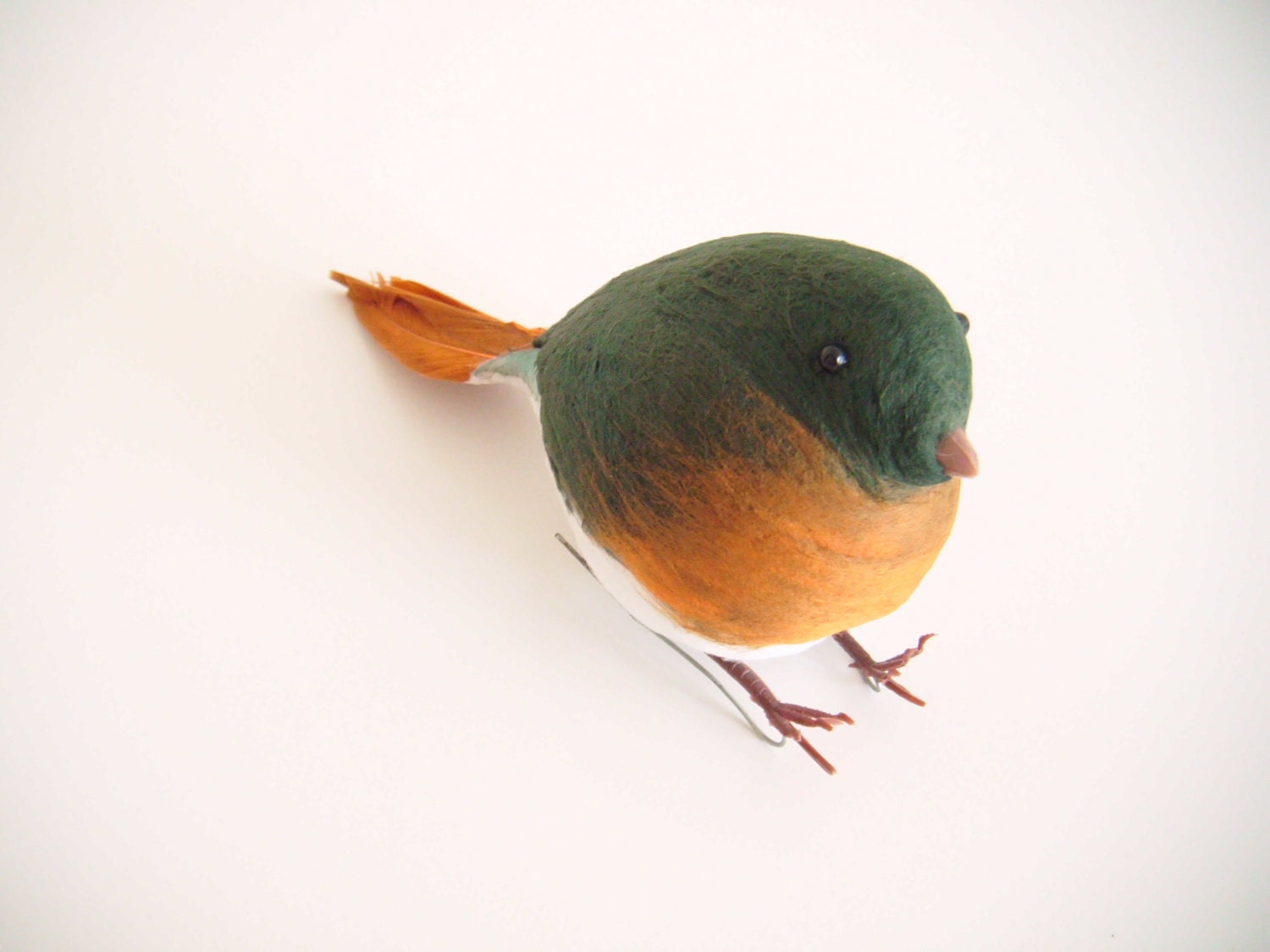 Vintage - Robin Christmas Tree Decoration