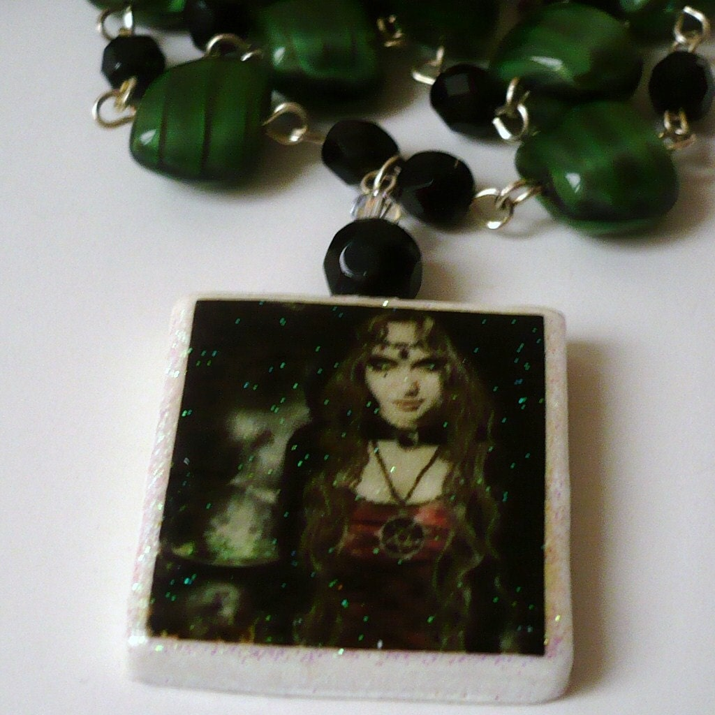 Wicca Witch Necklace Its Magic