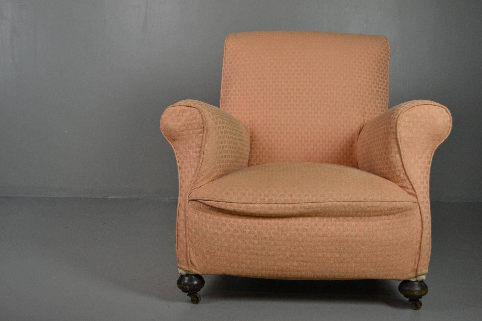 Antique Howard Style Armchair