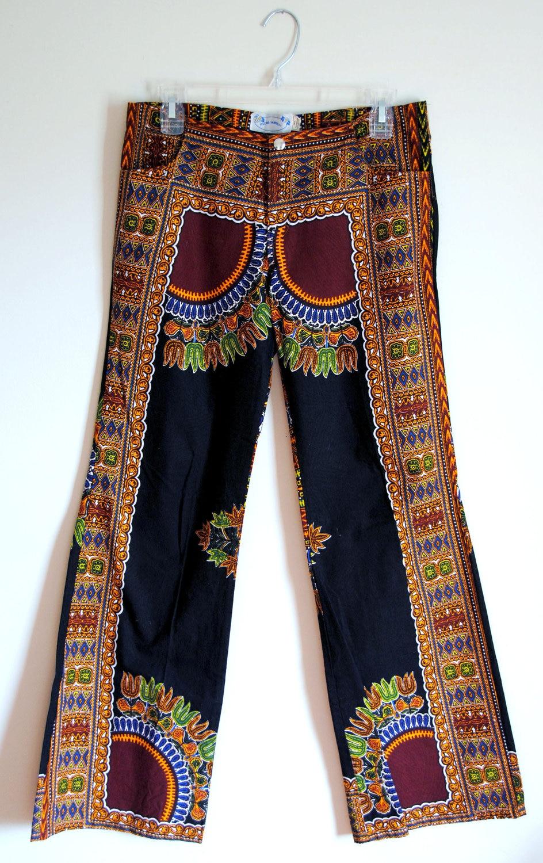 Hippie Bell Bottom Pants Women
