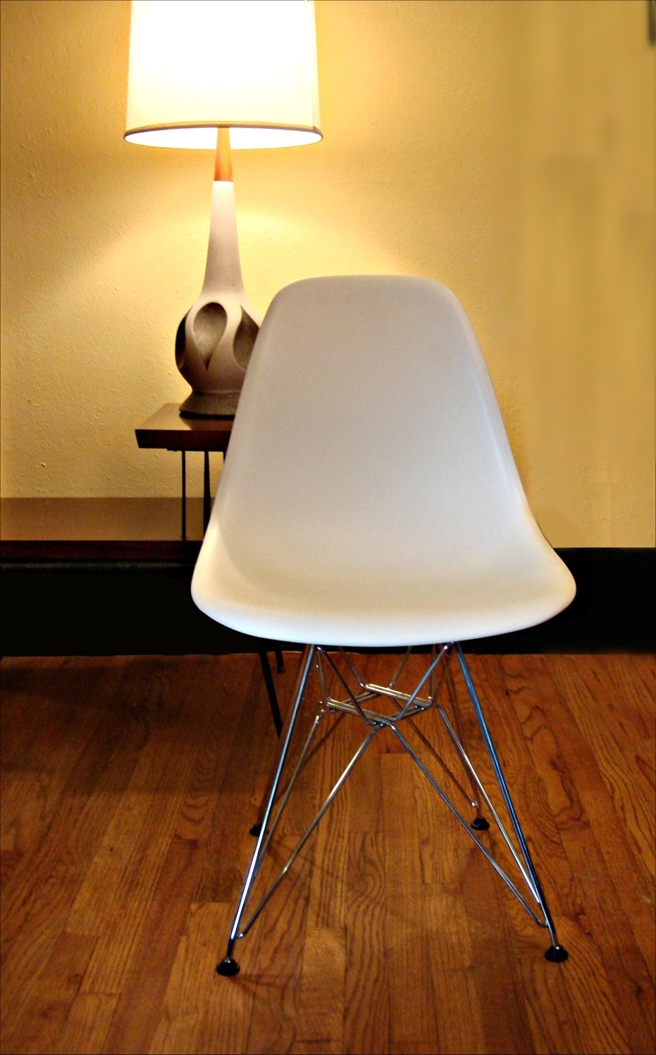 Charles Eames White Eiffel Tower Shell Chair By JBHoffman On Etsy