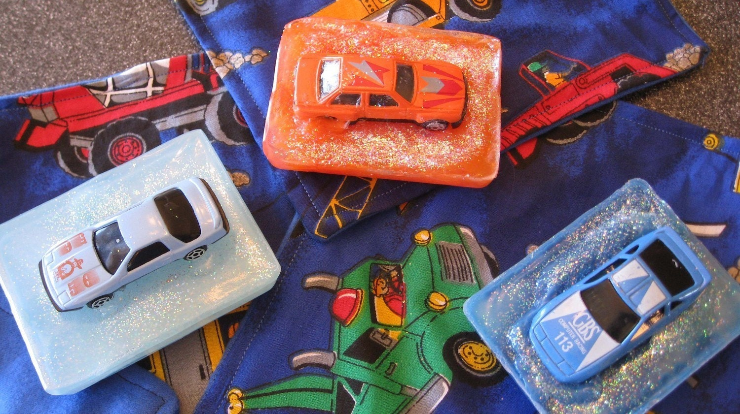 Car Soap and Washcloth Set