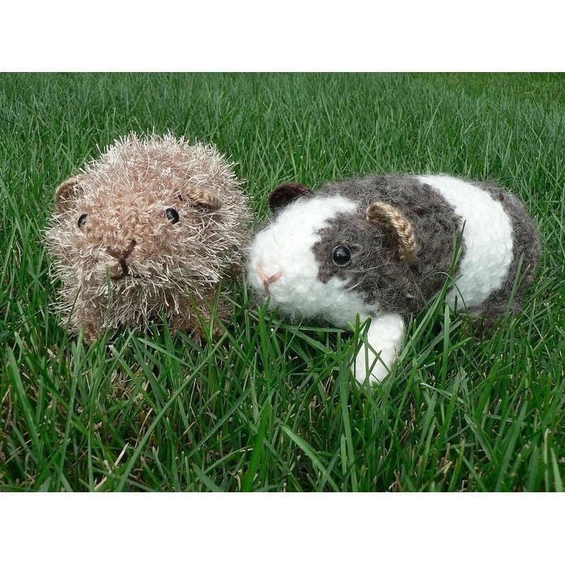 Crochet Amigurumi Guinea Pig : Fuzzy Guinea Pig amigurumi crochet pattern by PlanetJune ...