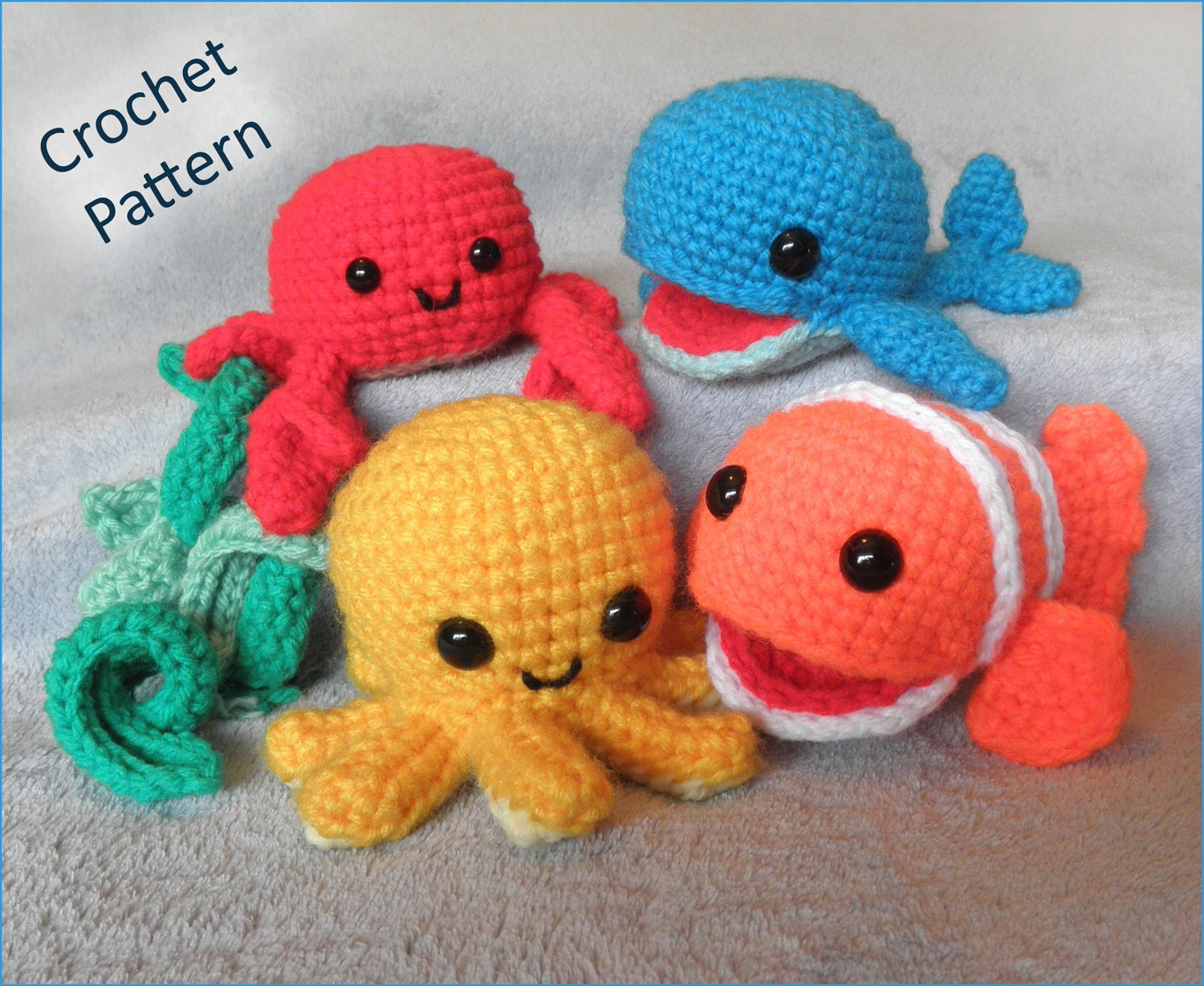 Underwater Friends Sea Creatures Or Mobile Pdf By Luvbug026