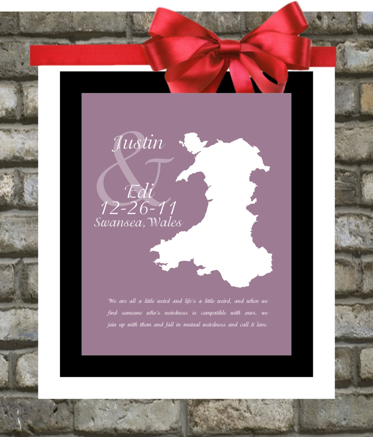 ... For Map Lovers Any Country Special Personalized Gifts For Couples