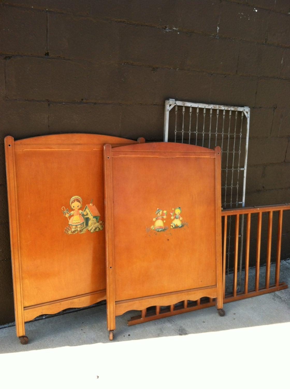 Rare Vintage Thomas Edison Crib Edison Little Folks Furniture Vintage Crib