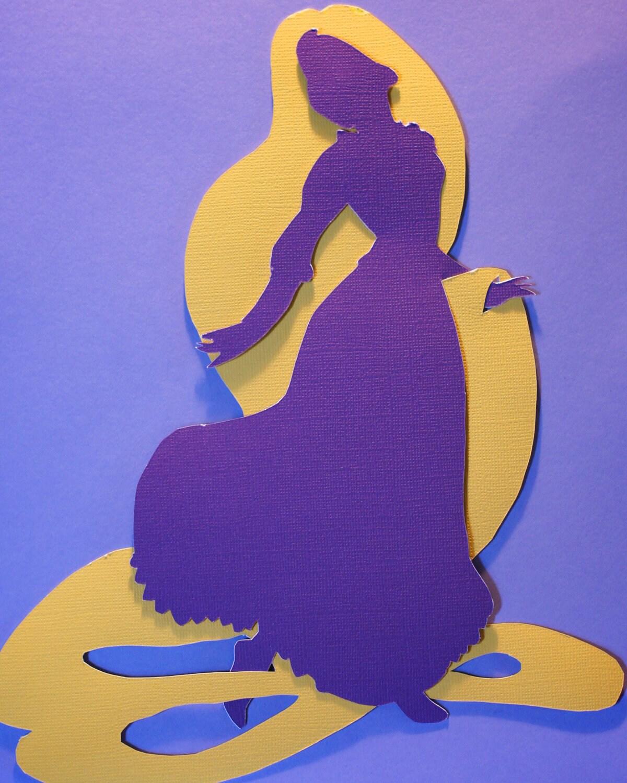 Disney Tangled Silhouette Tangled Silhouette Src