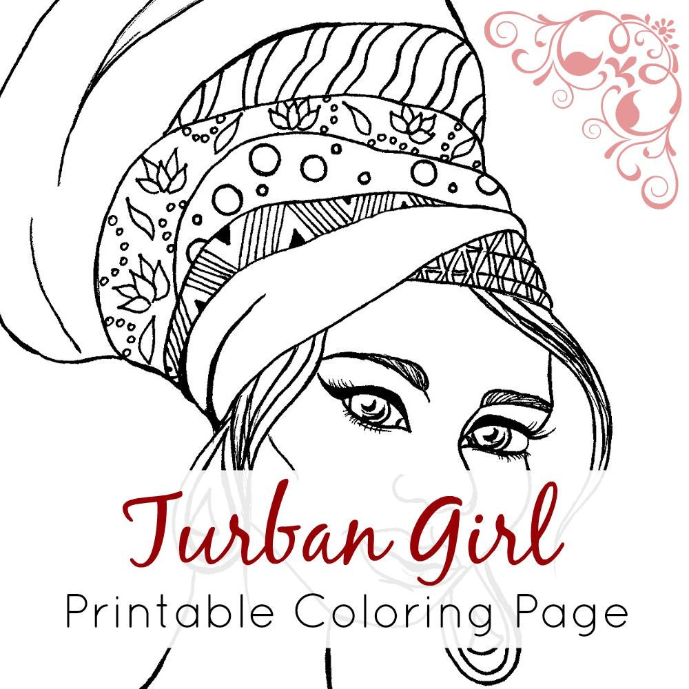 Coloring Pages for Girls  Super Coloring