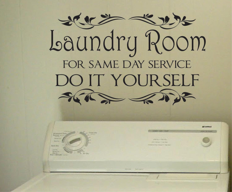vinyl wall lettering laundry room do it yourself by With do it yourself vinyl lettering
