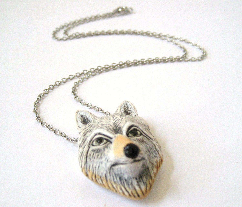Wolf totem necklace - photo#3