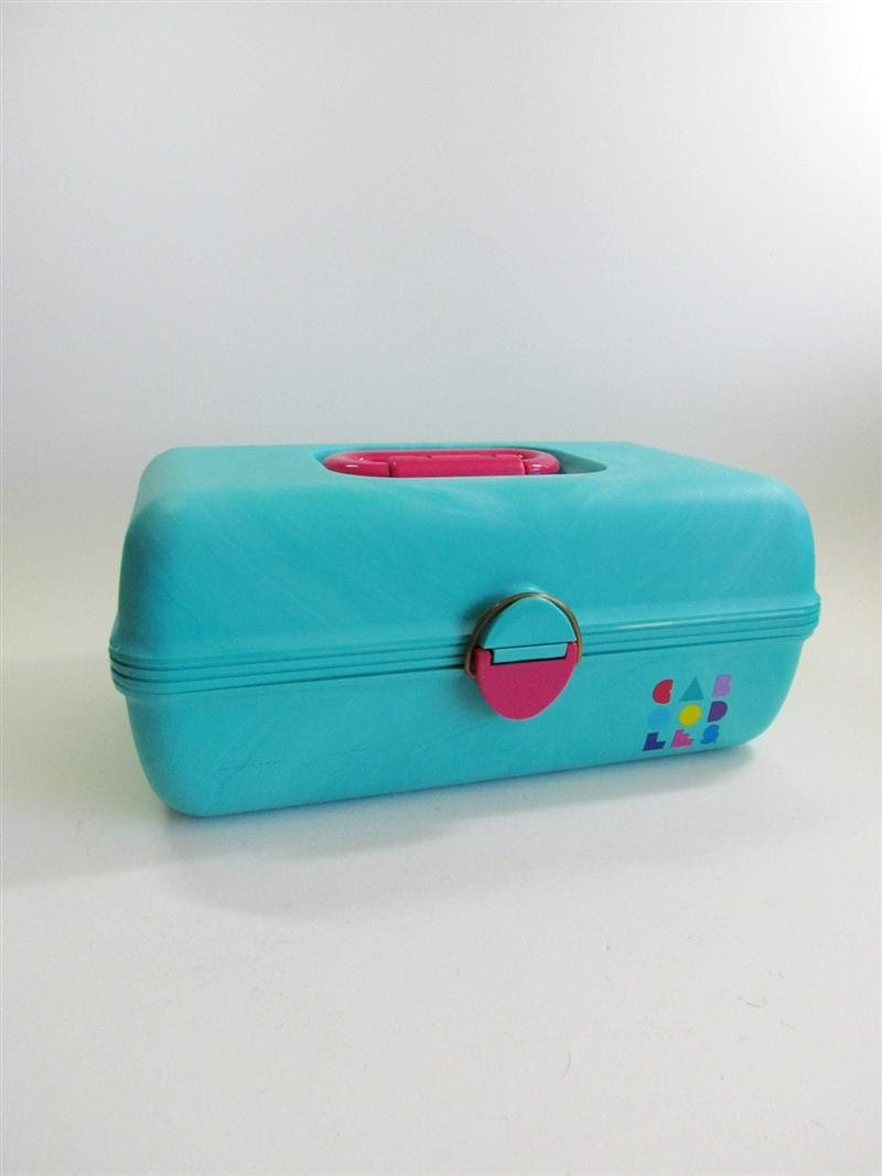 80s Caboodle Make-up Case by REtroGalore on Etsy