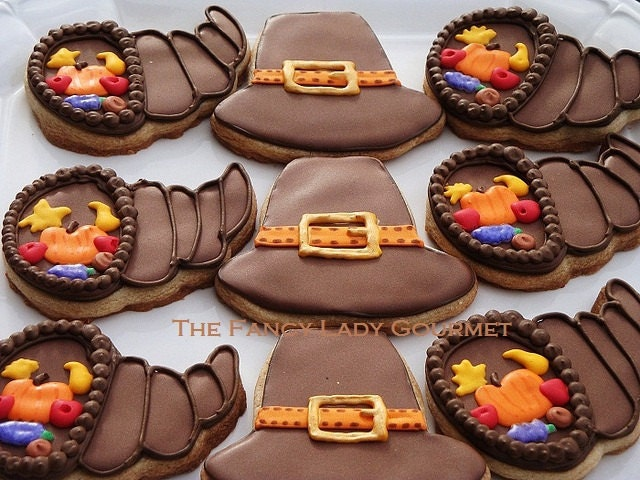 Thanksgiving Cookie Assortment 1 dozen