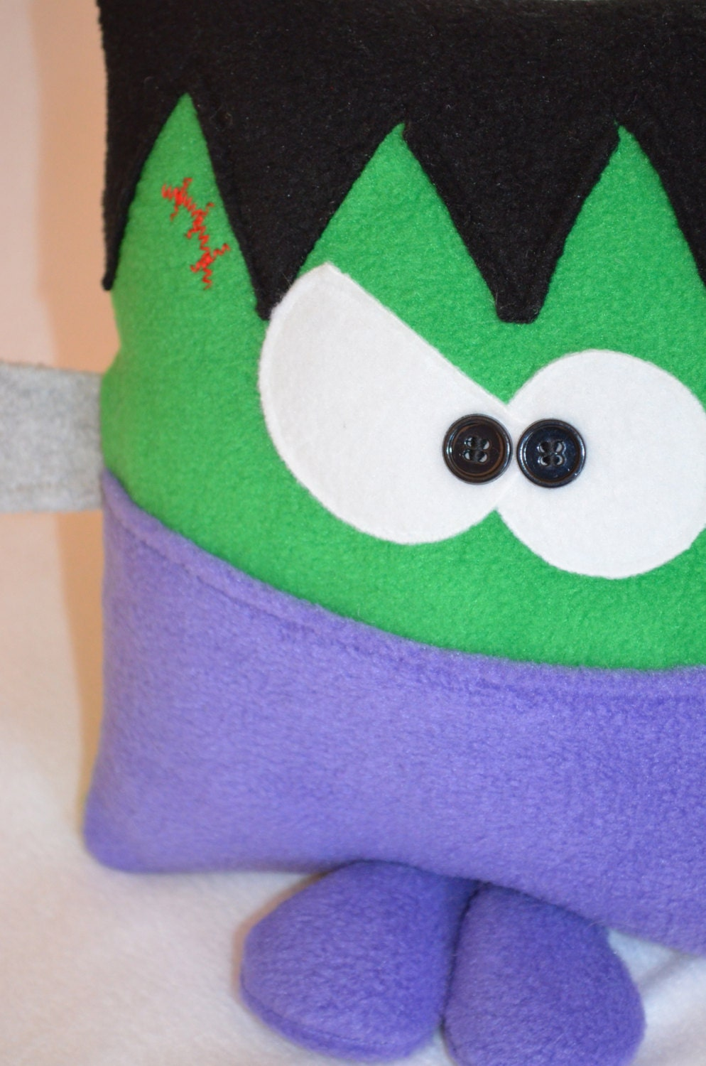 FrankenCritter the Pocket Pillow, great for Halloween - kookycritters