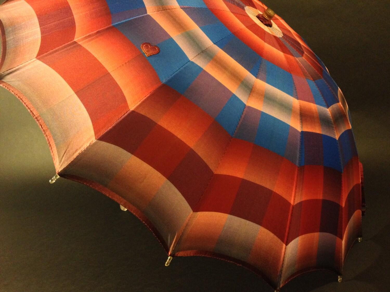 Radiant Restored 1950s Vintage Umbrella - TheUmbrellaLady