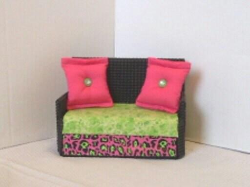 Barbie Furniture Monster High Furniture Pink Green