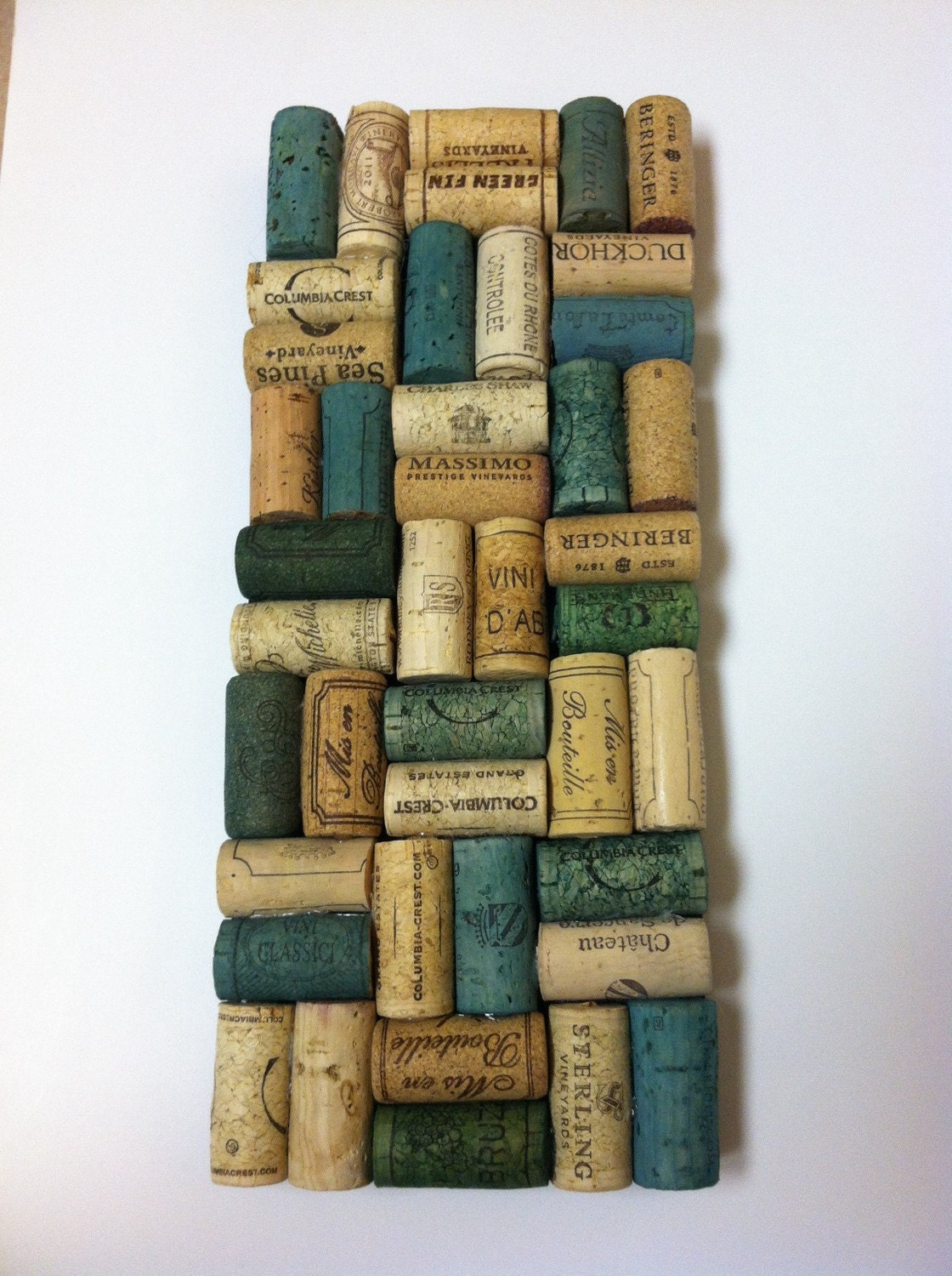 Wine cork on etsy a global handmade and vintage marketplace for Wine cork welcome mat