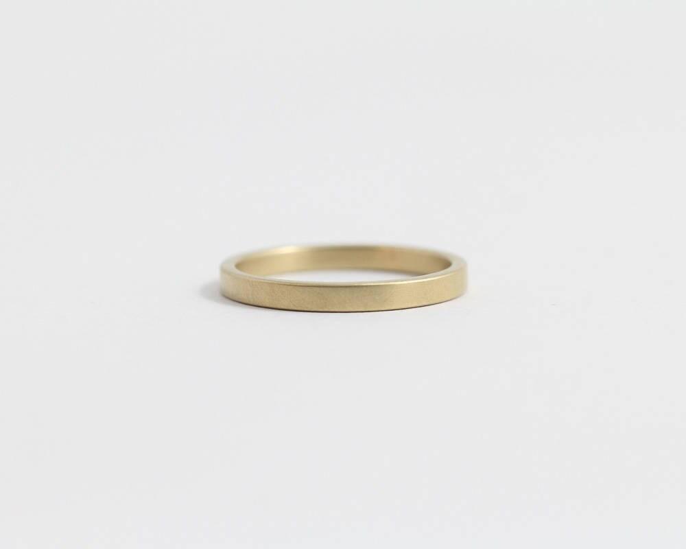 Rose gold engagement ring or diamond wedding Band   Etsy