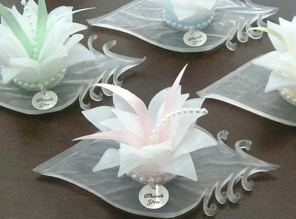 Soap Blossom Bridal Shower Favors, Unique Wedding Favors