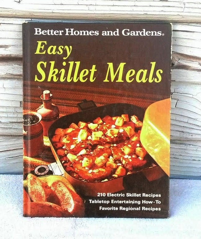 Cook Book Better Homes and Gardens Easy by OurSimpleTreasures