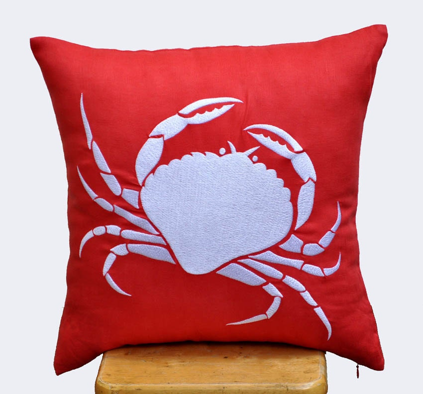 Coastal Pillow Cover Decorative Pillow Throw Pillow by KainKain