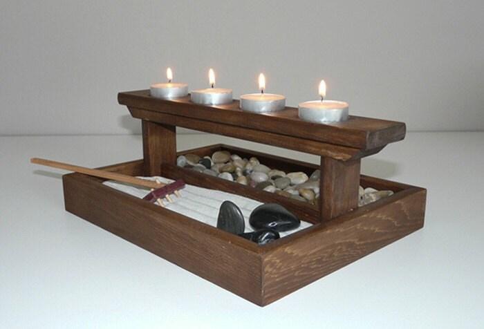 Mini Zen Garden Great For Home Or Office Desk By