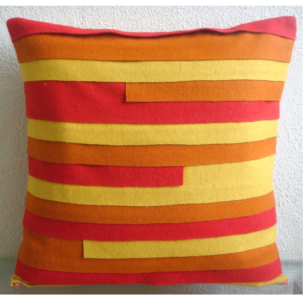 20x20 Throw Pillows Covers : Summer Juice Throw Pillow Covers 20x20 Inches by TheHomeCentric
