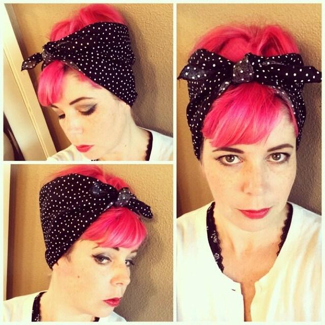 50s hairstyles bandana