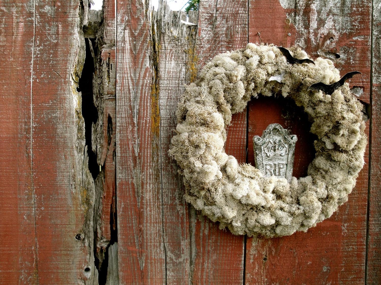 Halloween Wreath, Howling Moon Wreath