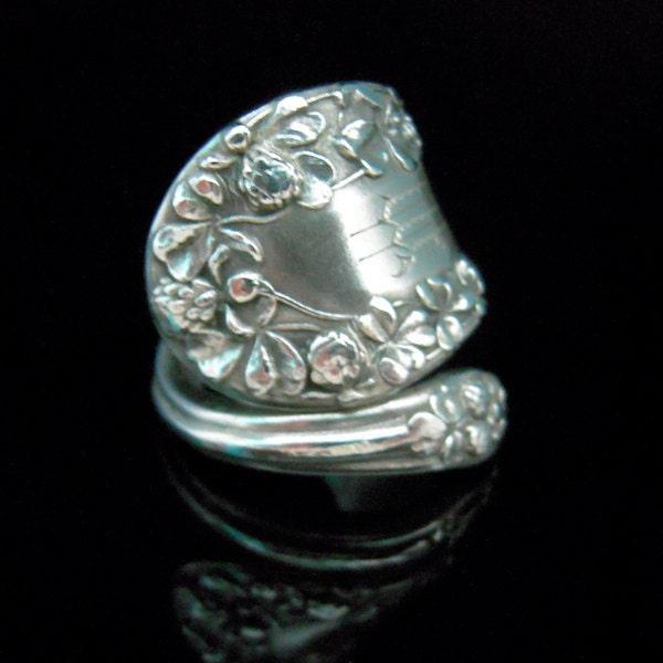 sterling silver spoon ring silverware jewelry by marchelloart