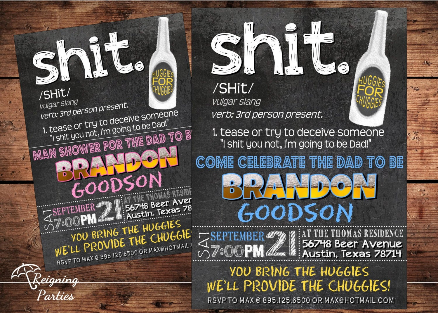 Funny Beer Diaper Shower Invitation Beer and by ...