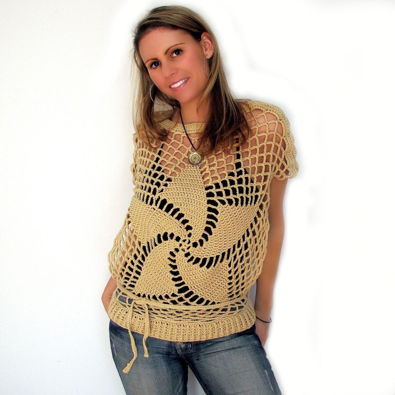 crochet pinwheel pattern