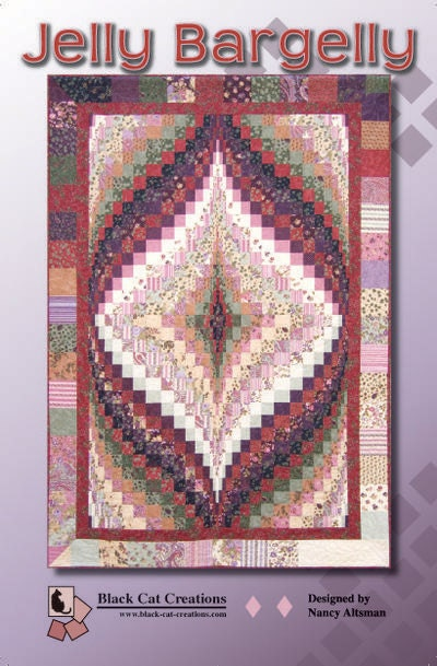 Jelly Bargelly Bargello Quilt Pattern By By
