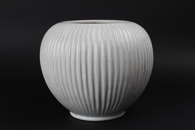Michael Andersen & Son  - Grooved Vase from Denmark mid century - danishhome
